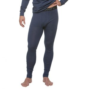 North Outdoor Miesten Active 210 Aluskerraston Merino Housut, Navy