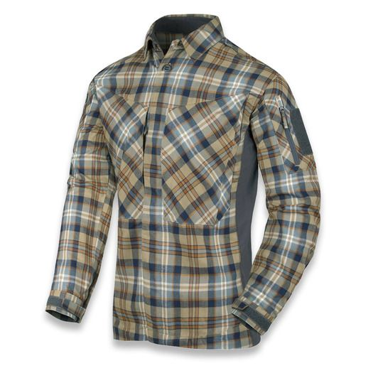 Helikon-Tex MBDU Flannel shirt, Ginger plaid