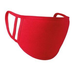 Painettava kangasmaski 5kpl/pkt, red