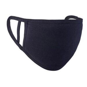 Painettava kangasmaski 5kpl/pkt, black